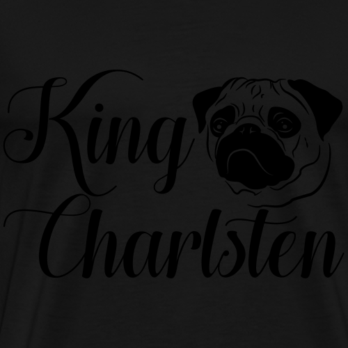 King Charlsten Logo - Männer Premium T-Shirt
