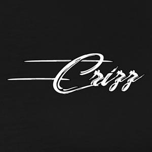 Crizz Written logo - Mannen Premium T-shirt