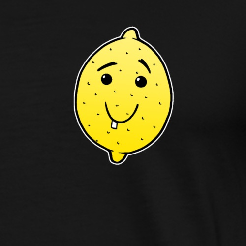 Zitrone Comic Baby Kinder süß Geschenk - Männer Premium T-Shirt