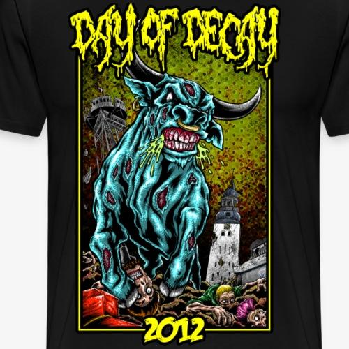 Day of Decay 2012 - Herre premium T-shirt