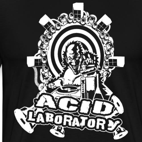 Tekno - Acid Laboratory - Männer Premium T-Shirt