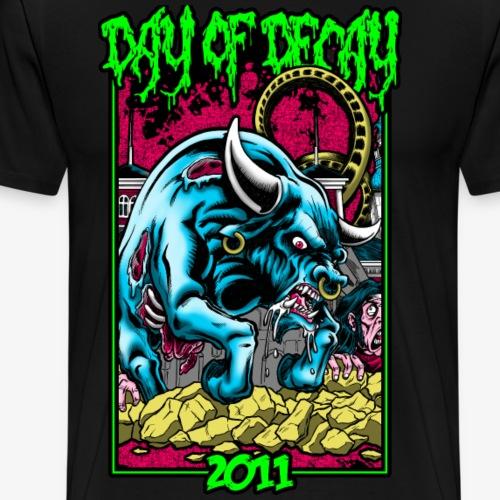 tee 2011 Sort v2 - Herre premium T-shirt
