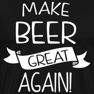 Make beer great again - Men's Premium T-Shirt