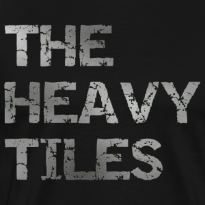 The heavy Tiles Heavy logo - Men's Premium T-Shirt