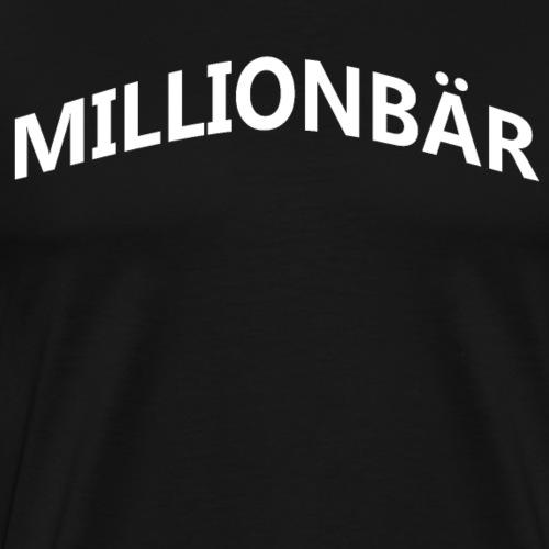Millionbär - Männer Premium T-Shirt