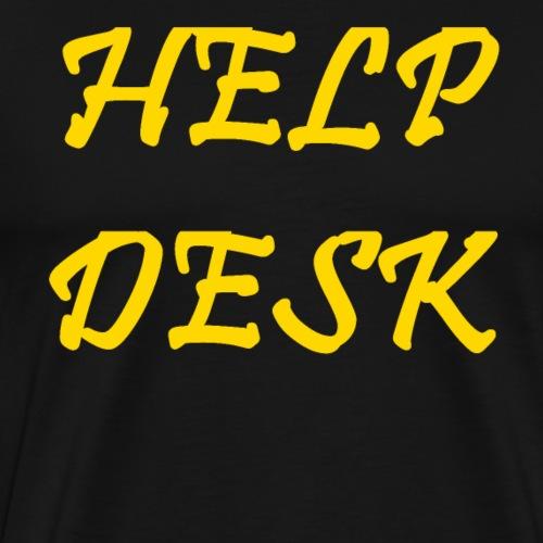 Help Desk - Männer Premium T-Shirt