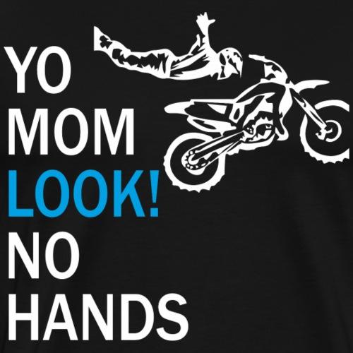 Motorcross Motorrad Bike BMX Motorsprot Geschenk - Männer Premium T-Shirt