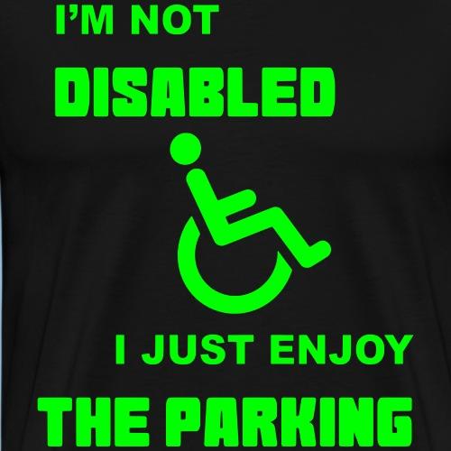 notdisabled1 - Mannen Premium T-shirt