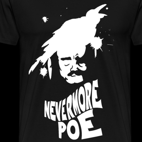 PoeNEVERMORE - Maglietta Premium da uomo