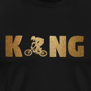KING BMX! Bikers! Sports! - Men's Premium T-Shirt