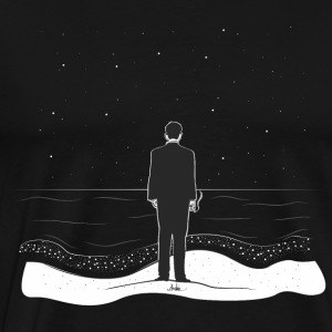 man and sea - Men's Premium T-Shirt