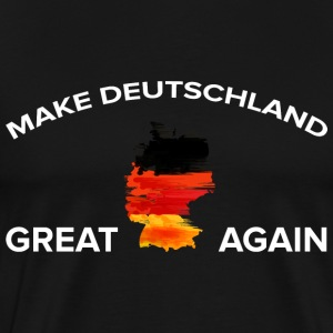 Make Deutschland Great Again - Männer Premium T-Shirt