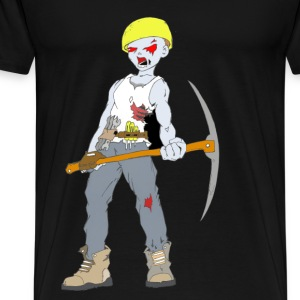 Builder Zombie Collection - Premium-T-shirt herr