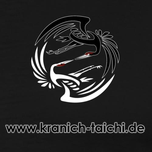 Kranich Tai Chi - Männer Premium T-Shirt