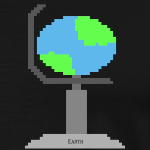 Globe Terrestre - T-shirt Premium Homme