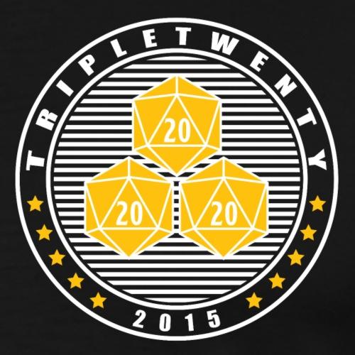 TripleTwenty - Navy Dark - Männer Premium T-Shirt