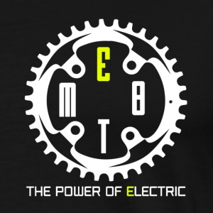 EMTB - THE POWER OF ELECTRIC - Männer Premium T-Shirt