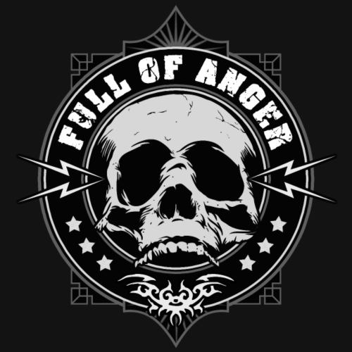 Full of Anger Logo #2 - Premium-T-shirt herr