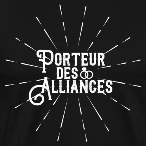 Porteur des Alliances / Blanc - T-shirt Premium Homme
