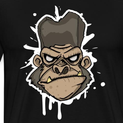 Gorilla Head - Climbing Shirt - Männer Premium T-Shirt
