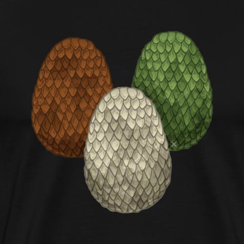 Huevos de dragón - Camiseta premium hombre
