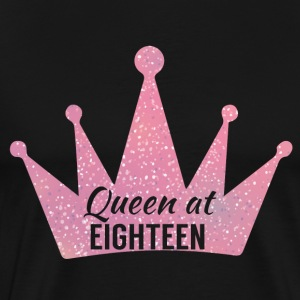 18th Birthday: Queen bij Eighteen - Mannen Premium T-shirt