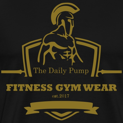 The Daily Pump Fitness Gym Wear - Männer Premium T-Shirt