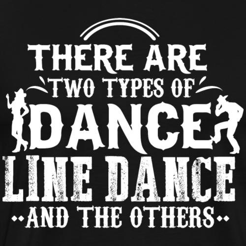 Line Dance Shirt - Linedance Country Musik - Männer Premium T-Shirt