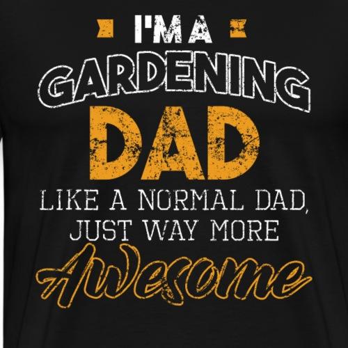 Gardening Dad Gardener Father's Day Gift Vintage - Männer Premium T-Shirt