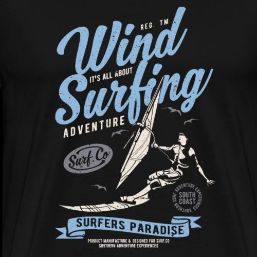 Wind Surfing Windsurfen - Männer Premium T-Shirt