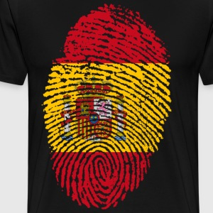 SPAIN / SPAIN FINGERABPRESSION - Men's Premium T-Shirt