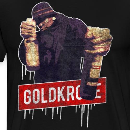 GOLDKRC*E Grunge Style - Männer Premium T-Shirt