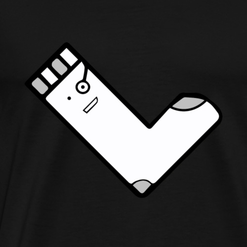 QuadratSocke YouTube Merch - Männer Premium T-Shirt
