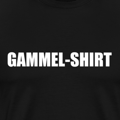 Gammel Shirt - Männer Premium T-Shirt