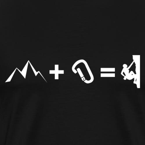 Climbing Addition - Männer Premium T-Shirt