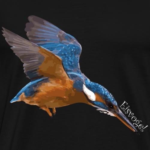 Der Eisvogel! - Männer Premium T-Shirt