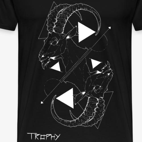 Steinbock invert - Männer Premium T-Shirt