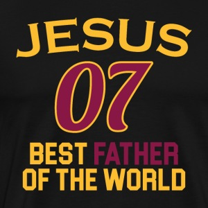 Jesus got the best Father - Männer Premium T-Shirt