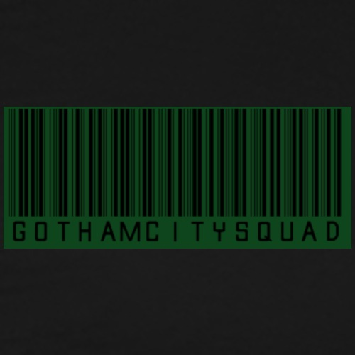 GothamCitySquad Barcode - Männer Premium T-Shirt