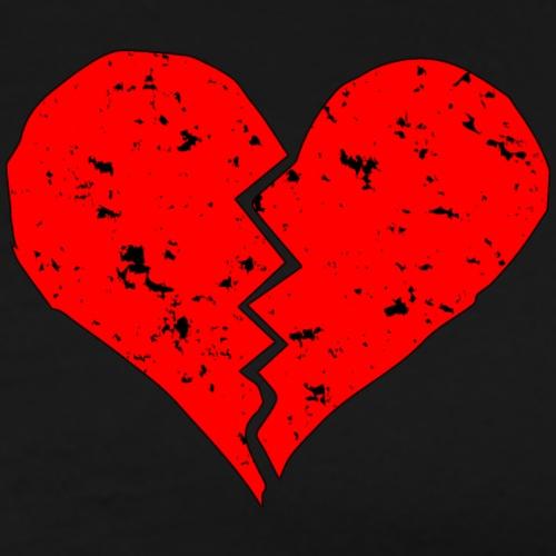 HEART BROKEEEN - Men's Premium T-Shirt