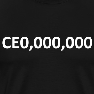 CEO, Entrepreneur 000,000 - Men's Premium T-Shirt