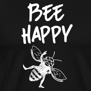 ++Bee Happy++ - Männer Premium T-Shirt