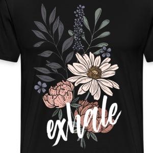 Exhale / white - Männer Premium T-Shirt