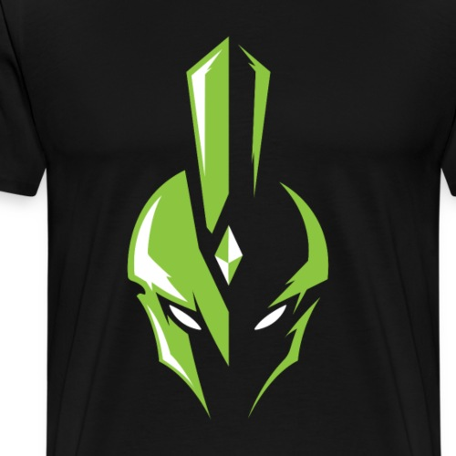 WARRIORS ESPORTS - LOGO OFFICIEL GREEN HEAD - T-shirt Premium Homme