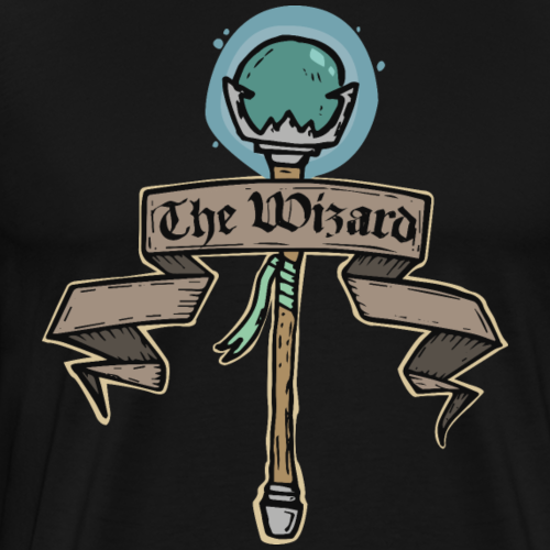 The Wizard - Men's Premium T-Shirt