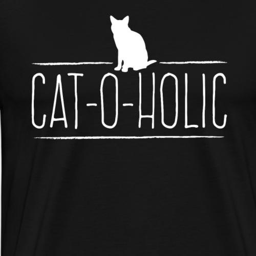 CAT-O-HOLIC - Camiseta premium hombre