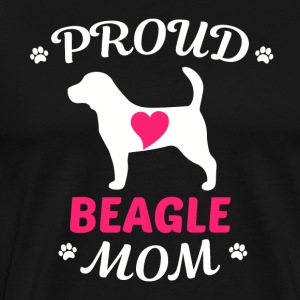Proud Mother beagle - Men's Premium T-Shirt