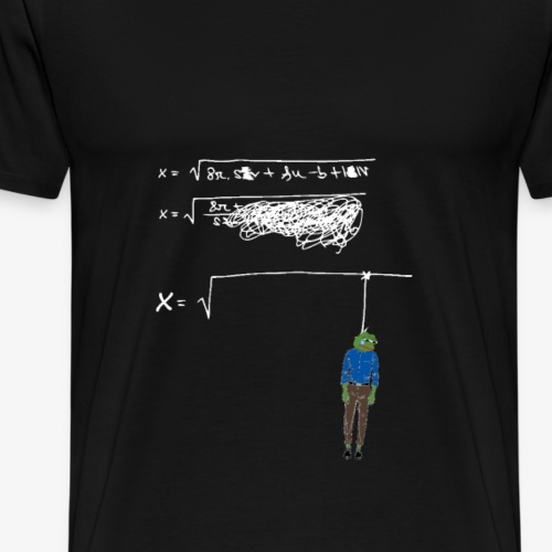 FeelsBadMathematik - Männer Premium T-Shirt