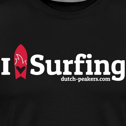 Peakers love surfing - Men's Premium T-Shirt
