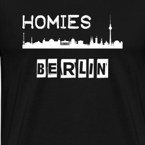 Homies Berlin - Männer Premium T-Shirt
